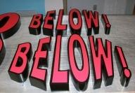 Below! Below!